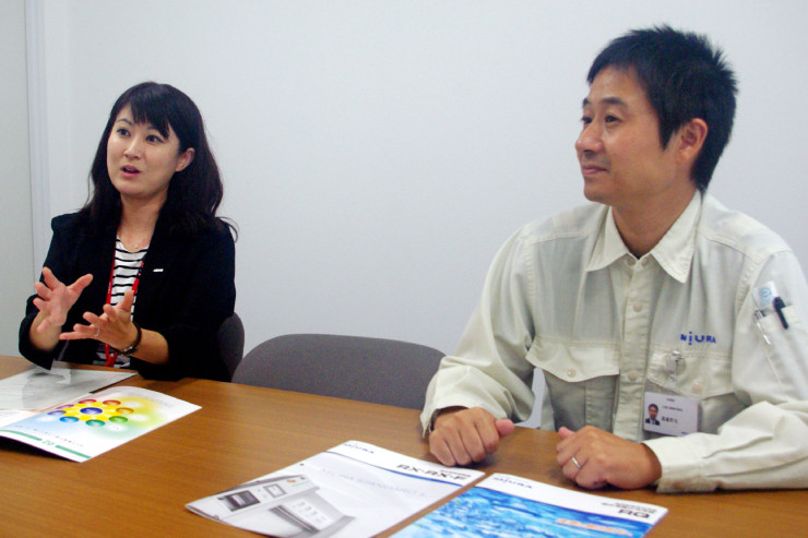 (お話を伺った阿部さん(左)と渡邉さん(右))
